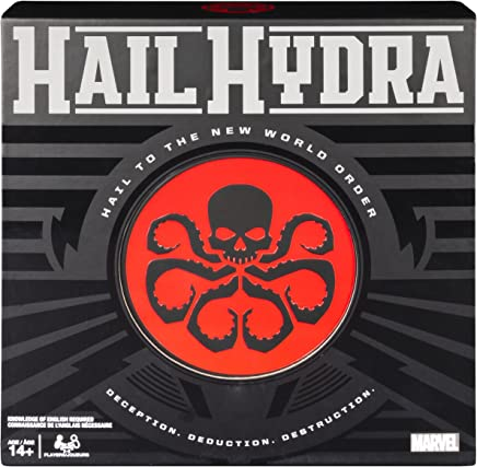 Spin Master Games Hail Hydra, Marvel Hero Board Game for Teens and Adults Aged 14 and Up