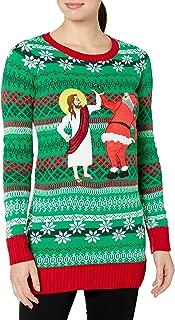 Blizzard Bay Women's Ugly Christmas Santa Sweater