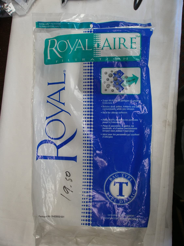 Rapid specialty shop rise Royal Type T Vacuum Per 7 Bags Pack