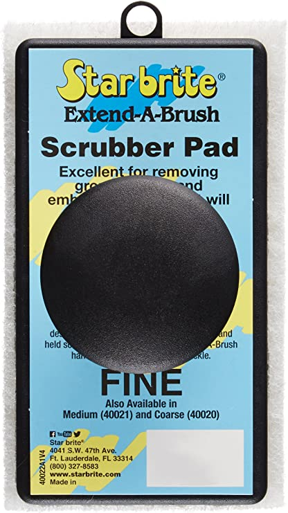 STAR BRITE Scrubber Pad Available in 3 Different Textures Extend-A-Brush