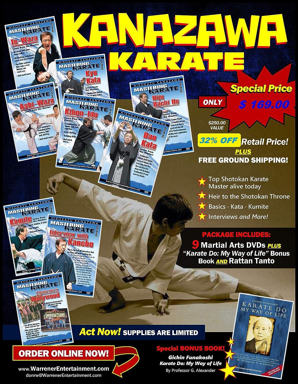 Max 72% OFF wholesale Kanazawa Karate Box DVDs Set 9