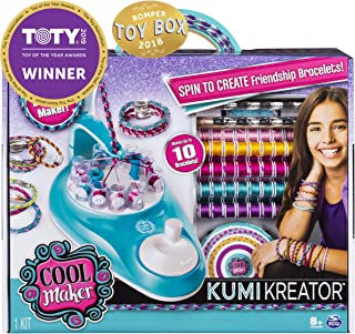 Cool Maker ACK KumiKreator BraceletStd UPCX GML Friendship Bracelet Maker Kit for Girls Ages 8 & Up Toy