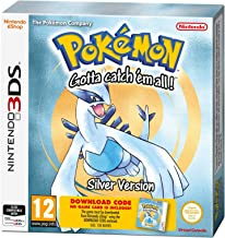 3DS Pokemon Silver Packaged Download Code - Nintendo 3DS [Importación inglesa]