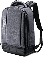 K&F Concept Professional Camera Backpack Large Size Photography Bag Compatible with Camera DSLR, 13.3'' Laptop,Tripod (Grey)