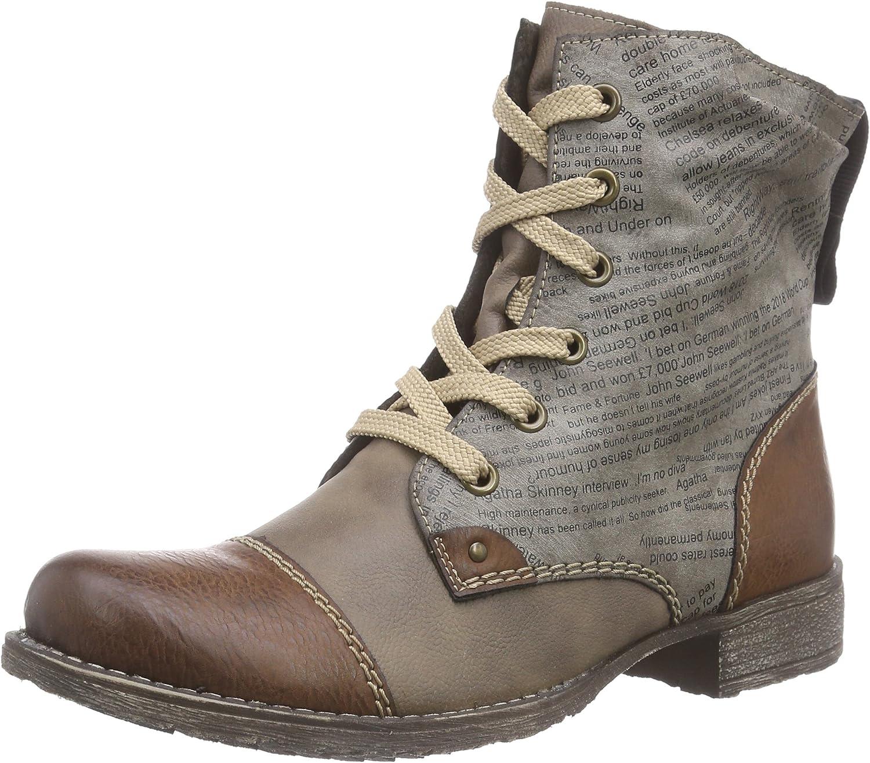 RIEKER Womens Stiefel, Winterstiefel, brown, 961409-2