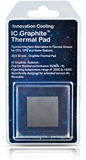 Innovation Cooling Graphite Thermal Pad ? Alternative to Thermal Paste/Grease (30 X 30mm)