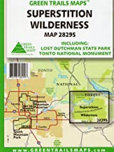 Superstition Wilderness: Including Lost Dutchman State Park and Tonto National Monument (2829S)