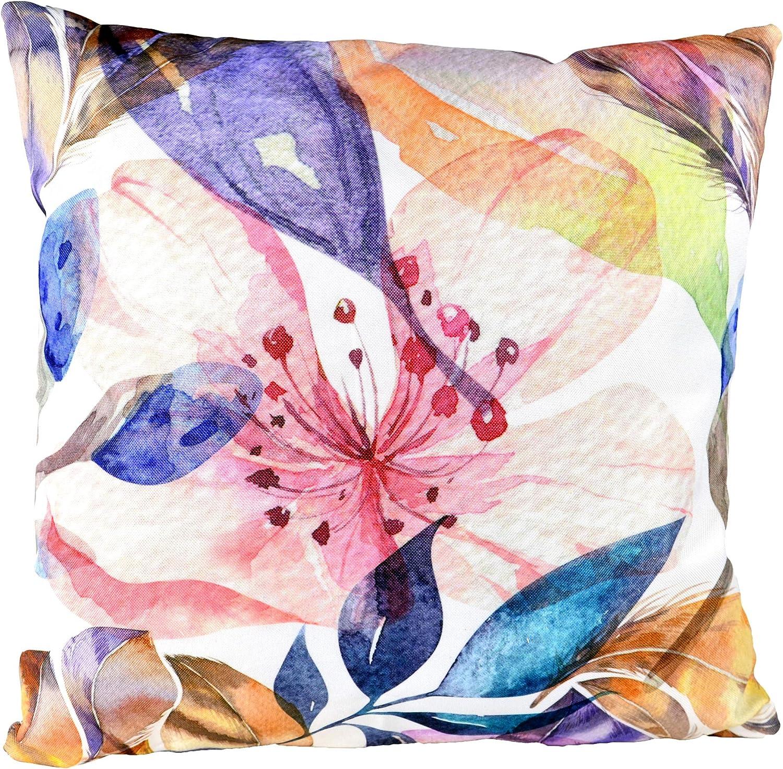 habeig Sitzkissen WASSERDICHT Kissen Outdoor Wetterfest 45x45 cm Zierkissen Gartenstuhl Auflagen Abstrakt #614