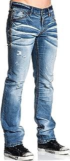 Ace Fleur NF Bonneville Slim Straight Leg Fit Denim Jeans for Men