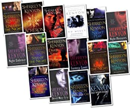 Sherrilyn Kenyon The Dark Hunter Novel 16 Books Collection Pack Set RRP: £114.4 (Devil May Cry, Bad Moon Rising, Fantasy Lover, Acheron, Night Embrace , Seize the Night, Night Play, Kiss of the Night, Dance with the Devil, One Silent Night, Devil May Cry,