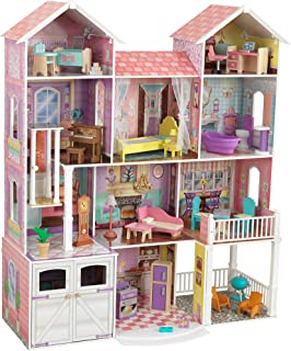 KidKraft Country Estate Wooden Dollhouse for 12