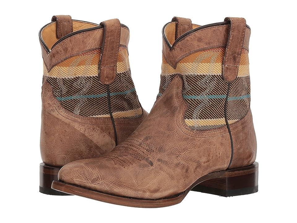 Roper Sierra Shortie (Tan) Cowboy Boots