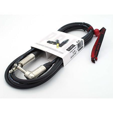 X-LEAD IC35PN030BK Serie PLATINUM, cable de instrumentos profesional de alta calidad para guitarra/bajo/teclados - Jack/Jack - conectores NEUTRIK ...