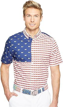 USA Whale Short Sleeve No Pocket Murray Shirt