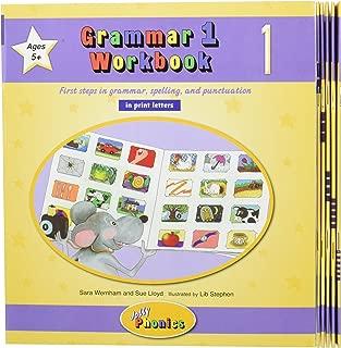 Grammar 1 Workbooks 1-6 (in Print Letters)