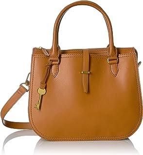 Fossil Ryder Leather 30.48 cms Brown Gym Shoulder Bag (ZB7412231)