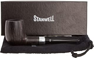 Stanwell Army Mount Black 88 Tobacco Pipe - Smooth