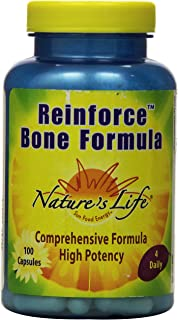 Nature's Life Reinforce Bone Formula | 100 ct