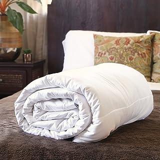 Silk Bedding Direct Couette en Soie. Continental Queen Size. Poids Mi-Saison. 100% Soie de Mûrier. Hypoallergénique. 240 c...