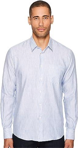 Vilebrequin - Long Sleeve Striped Linen Button Down