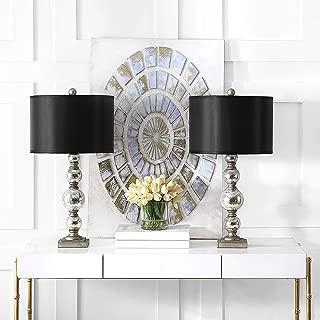 Safavieh Lighting Collection Nettie Mercury Glass 28-inch Table Lamp (Set of 2)