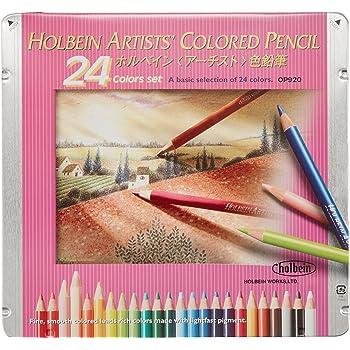 ホルベイン画材(Holbein Art Materials) アーチスト色鉛筆 OP920 24色セット 20920