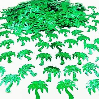 Palm Tree Confetti Summer Party Decorations Tropical Breeze Confetti 1.5 oz