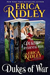 Dukes of War (Books 5-7) Boxed Set: 3 Regency Romances (Dukes of War Box Sets Book 2) Kindle Edition