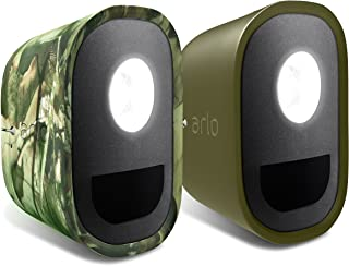 Arlo Accessory - Skins | Set of 2 – Green & Mossy Oak |Compatible with Arlo Lights only| (ALA1100). Security Light not Inc...