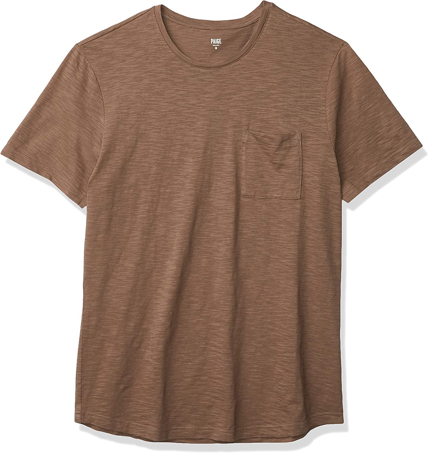 PAIGE Men's Inventory cleanup selling sale Kenneth Crew Tee Neck Limited time sale Shirt