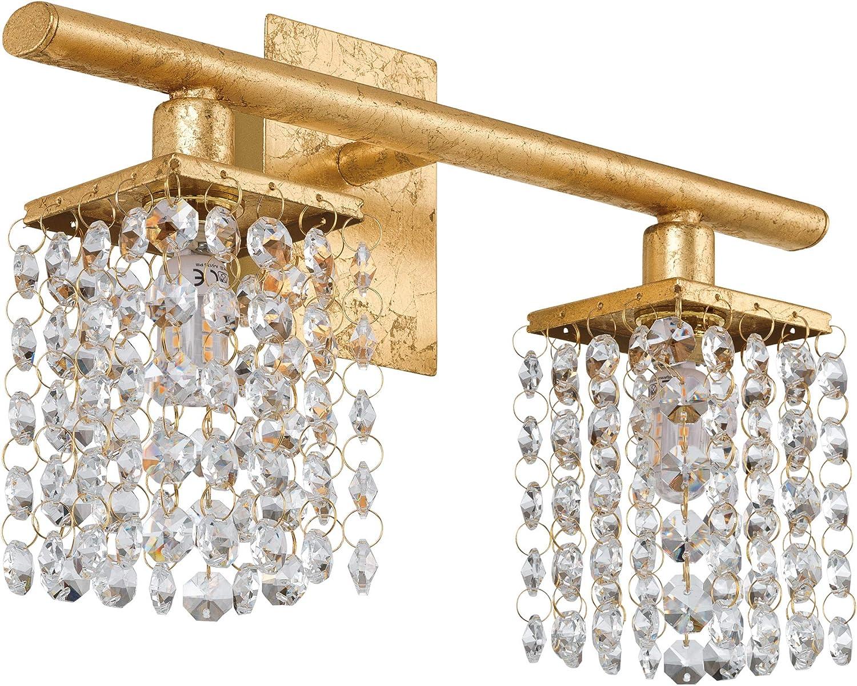 EGLO PYTON Gold Wandleuchte Stahl 3 W, Goldfarben