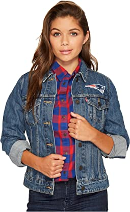 Levi's® Womens - Patriots Sport Denim Trucker