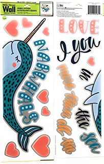 Narwhal Wall Stickers
