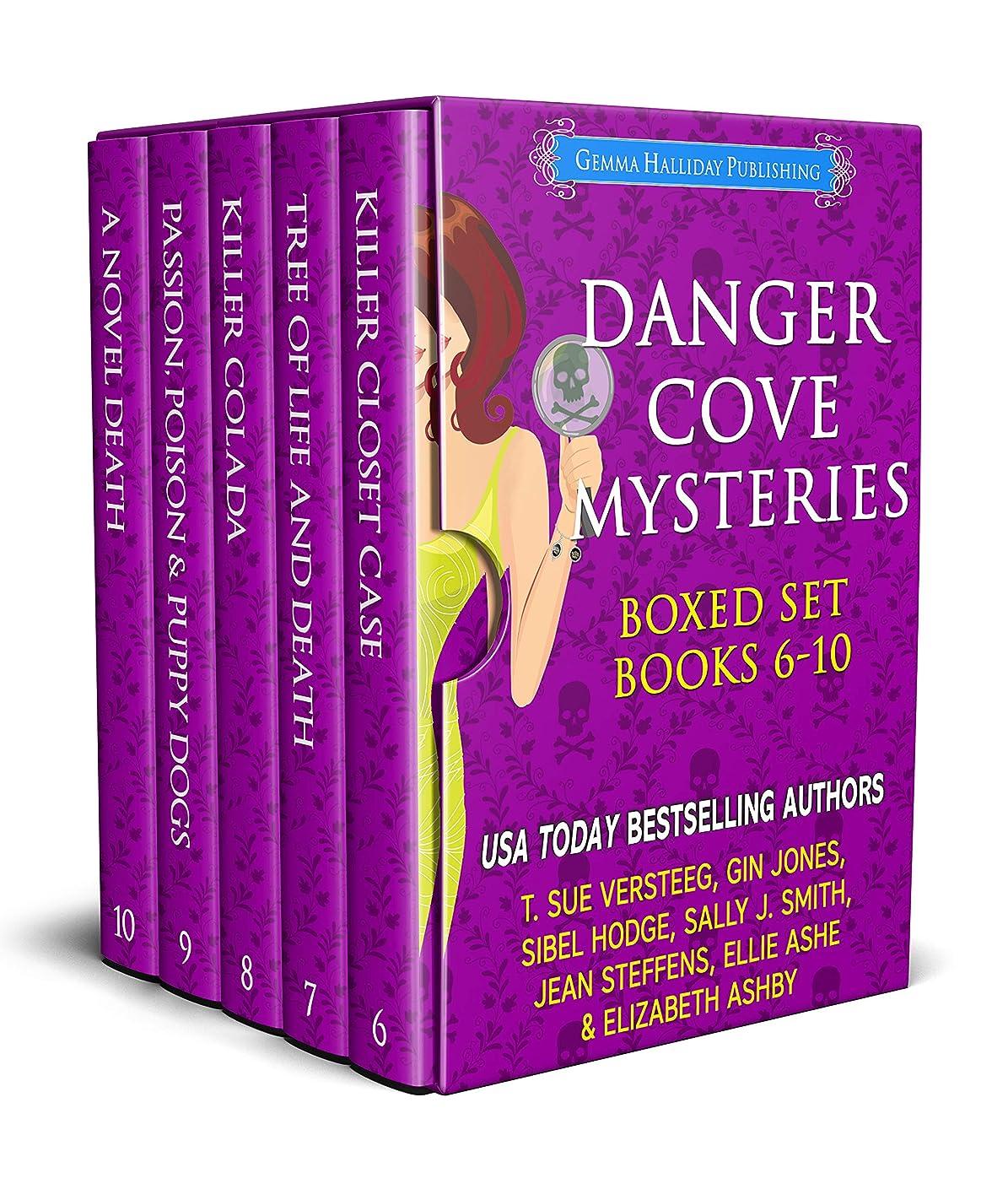 蓄積する法律によりねじれDanger Cove Mysteries Boxed Set (Books 6-10) (English Edition)