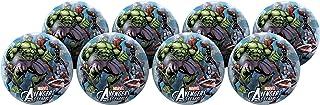 Hedstrom Avengers Assemble Playball Party Pack, Size Medium, 8 Balls