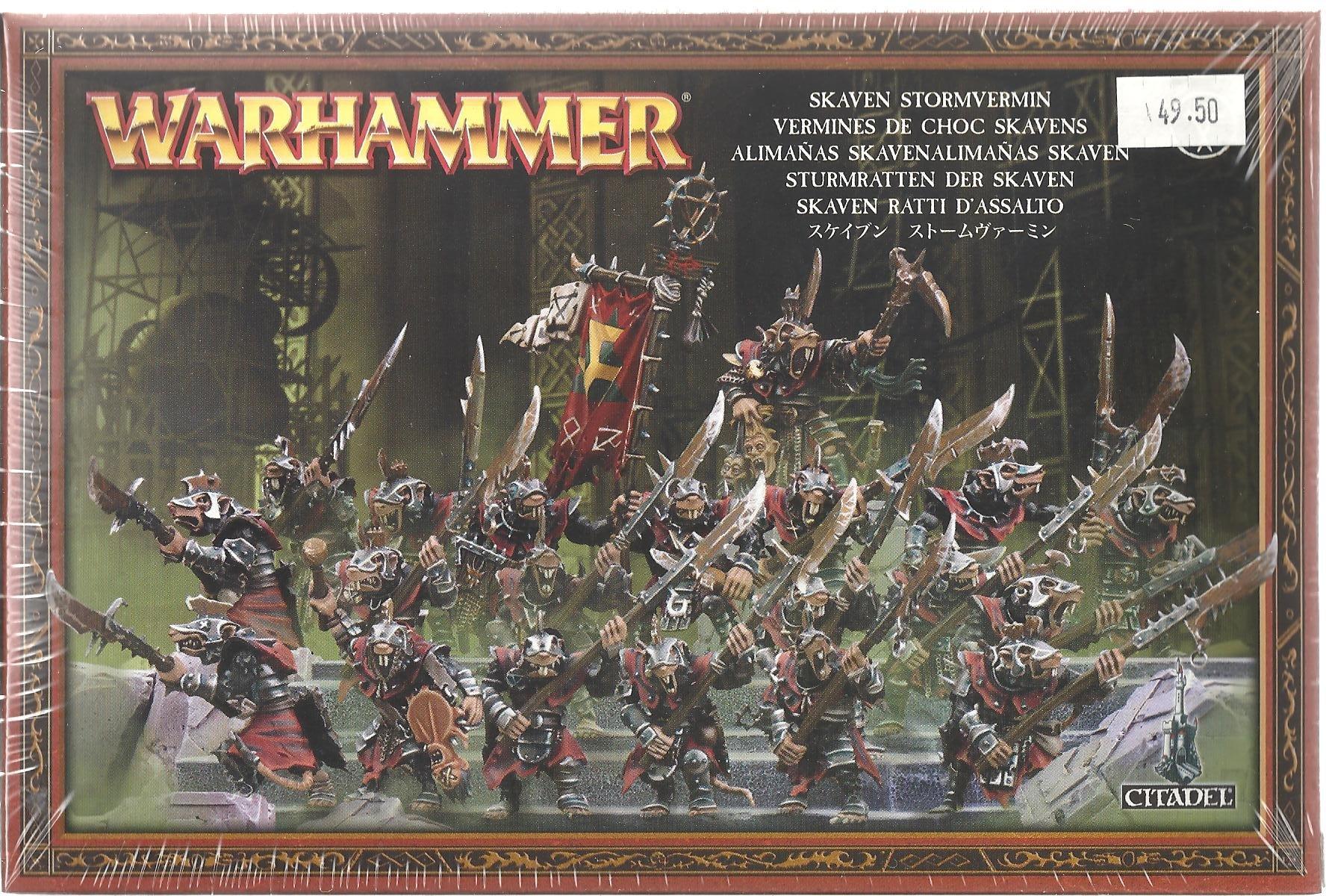Skaven Alimañas regimiento - Warhammer.: Amazon.es: Juguetes y juegos