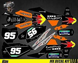 Kit d/éco 6 pi/èces pour Moto KTM EXC 4 Temps 2005 2006 2007 0505419 Neuf ACE