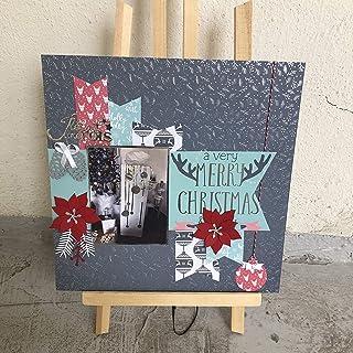 Kit Scrapbooking page de Noël 30,5X30,5 cm
