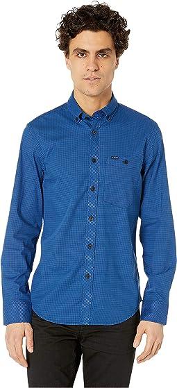Sartho Blue/Hudson Blue Check