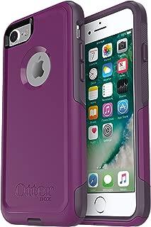 OtterBox COMMUTER SERIES Case for iPhone 8 & iPhone 7 (NOT Plus) - Retail Packaging - PLUM WAY (PLUM HAZE/NIGHT PURPLE)