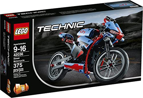 LEGO Technic rue Motorcycle by LEGO