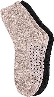 Adult Indoors Anti-Skid Winter Slipper Socks - 2,4,6 Pack