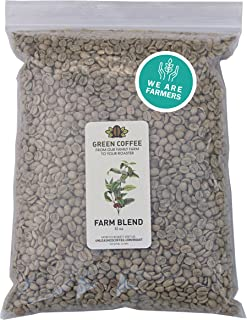 Green Coffee Direct Trade Micro Lot Sustainable Volcanic Soil Single Estate Farm Blend 2lb