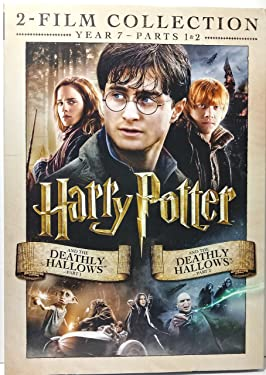 HARRY POTTER 2-FILM COLLECTION YEAR 7 - THE DEATHLY HALLOWS PART 1 & PART 2 DVD (2016)
