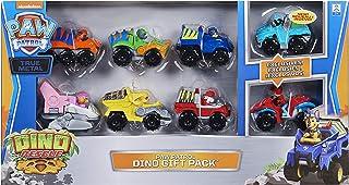 PAW PATROL Children's Toy Set of 8 True Metal Dino Rescue Vehicles
