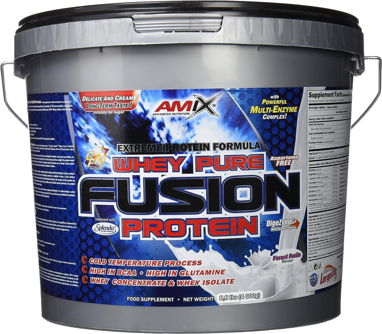 Amix Whey Pure Fusion 4 Kg Chocolate 4000 g: Amazon.es: Salud ...
