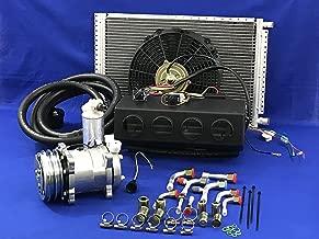 Coldmasterinc A/C KIT Universal UNDERDASH Evaporator Compressor 2A 432-000 12V W/Electrical Harness