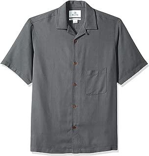 28 Palms Men's Relaxed-Fit 100% Silk Camp Shirt