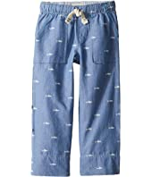 Hatley Kids - Chambray Patterned Shark Clam Digger (Toddler/Little Kids/Big Kids)