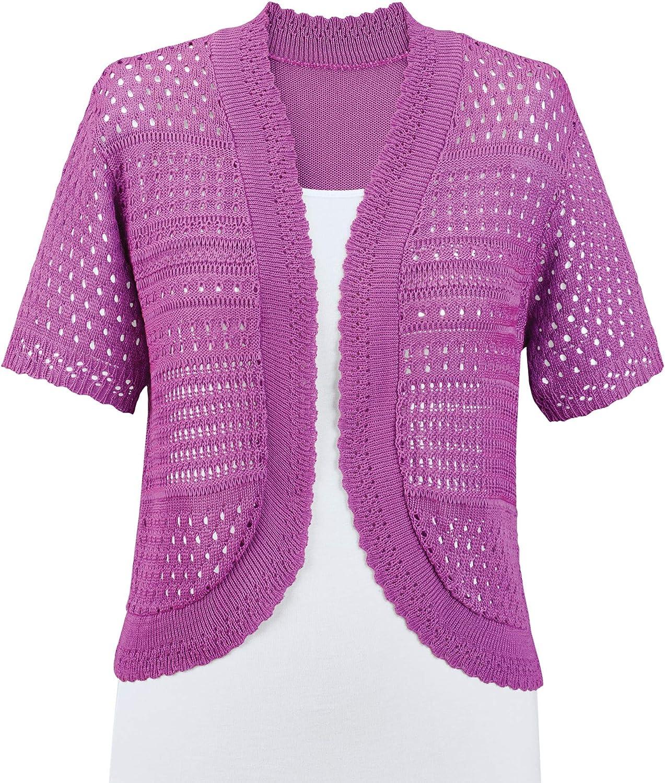 Collections Etc Soft price Lightweight Sweater Pointelle Feminine Sh favorite